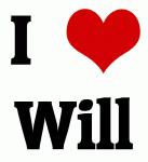 I Love Will