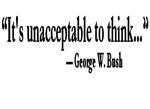Thinking Unacceptable