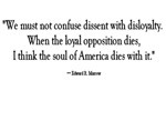 Dissent and Disloyalty