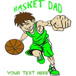 PERSONALIZED BASKET DAD