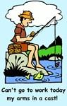Funny fishing gift