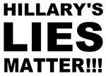 Hillary's lies matter!!!
