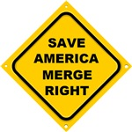 Save America Merge Right