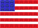 American Flag Republican Design