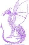 Purple Watcher Dragon