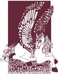 Sepia Diamond Pegasus