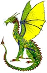 Watcher Dragon in colour!