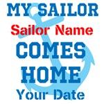 Customizable Sailor Homecoming
