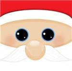 Santa's Funny Closeup