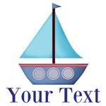 Personalizable Sailboat