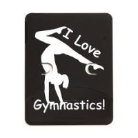 Gymnastics Case Kindle, Nook, iPad, iPhone, Laptop
