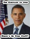 Barack Obama Free Stuff