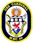 USS Cardinal MHC-60 Navy Ship