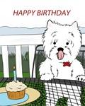 Birthday Westie