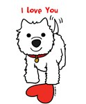 I Love You Westie