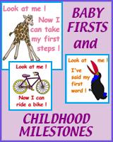 CHILDHOOD MILESTONES ON T-SHIRTS