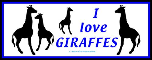 GIRAFFE T-SHIRTS & GIFTS