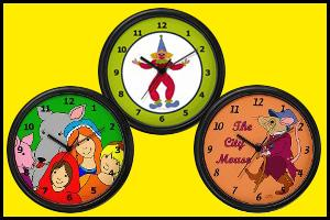 WALL CLOCKS FOR KIDS