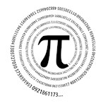 Pi Symbol Spiral