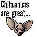 Chihuahua's are Great... Food for My Doberman