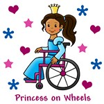 Princess on Wheels (Dark Skin)