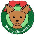 Chihuahua Christmas Ornaments