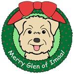 Glen of Imaal Terrier Christmas Ornaments