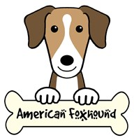 Personalized American Foxhound