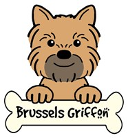 Personalized Brussels Griffon