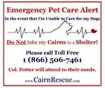 Emergency Cairn Alert