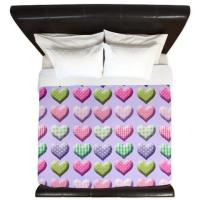 Gingham Hearts Patchwork