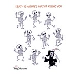Dancing Skeletons with Death