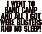 Band Camp Blisters
