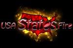 USA States Fire