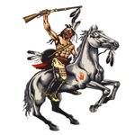 Native American Horseback