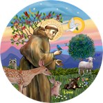 Saint Francis with LOVE<br>the Chihuahua