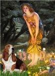 MIDSUMMER'S EVE<br>& Basset Hound