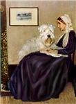 WHISTLER'S MOTHER<br>& Wheaten Terrier