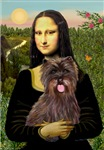 MONA LISA<br>& Brindle Cairn Terrier