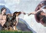 CREATION<br>& Doberman PInscher Pair