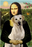 MONA LISA<br>& Yellow Labrador Retriever