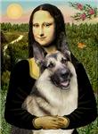 MONA LISA<br>& German Shepherd