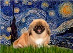 STARRY NIGHT<br>& Pekingese (RW)