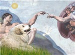 CREATION OF MAN<br>& Great Pyrenees
