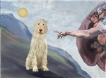CREATION OF MAN<br> & Italian Spinone