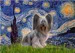 STARRY NIGHT<br>With Skye Terrier #2