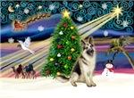 CHRISTMAS MAGIC<br>& German Shepherd