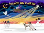 CHRISTMAS SUNRISE<br> 2 Jack Russel Terriers