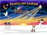CHRISTMAS SUNRISE<br>& Chihuahua
