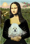 MONA LISA<br>& White Poodle (Toy/Min)